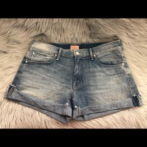 "Mother Jean Shorts ""Drop Out"" 27"
